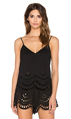 keepsake Mixed Messages Top in Black