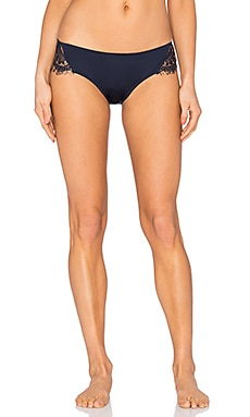 keepsake Carmen Bikini Cut Bottom in Dark Navy