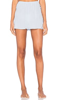keepsake Into The Night Silk Short in Pastel Blue