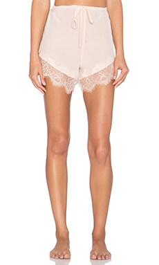 keepsake Stolen Dance Silk Shorts in Shell