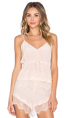 keepsake Stolen Dance Silk Cami in Shell