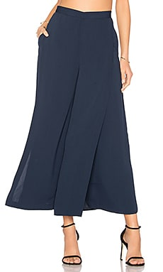 Meadows Cropped Pants en Marine