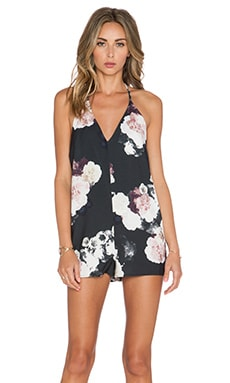 keepsake x REVOLVE Recover Playsuit in Dark Flower Bloom