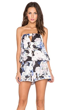 keepsake To The Point Playsuit in Watercolour Floral