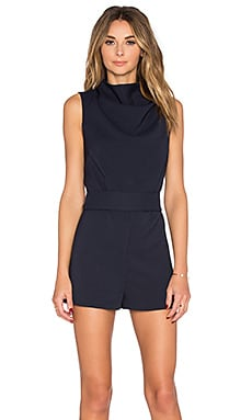 Essence Romper in Navy