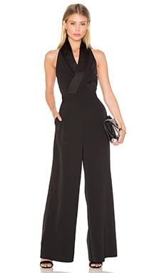 White Shadows Jumpsuit in Black