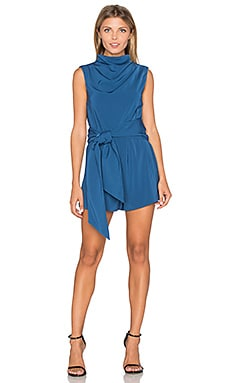 Escape Romper in Navy