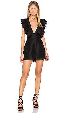 Remind Me Playsuit in Black