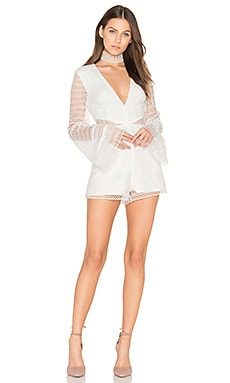 All Night Lace Playsuit in Playsuit