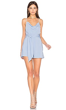 Needed Me Romper in Pastel Blue
