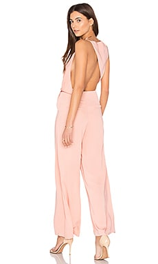Without You Jumpsuit in Dusty Rose