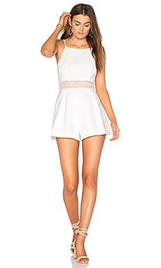 Do It Right Romper in Ivory