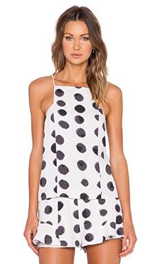 keepsake Restless Heart Top in Light Polka Dot