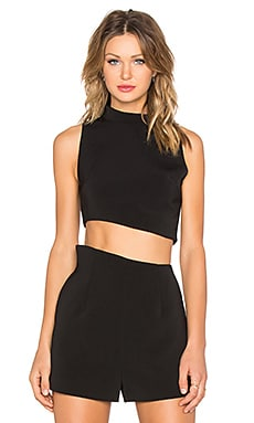 keepsake Rip Tide Top in Black