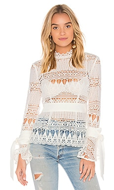 Walk On By Lace Top