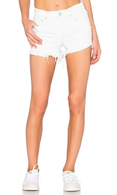Ksubi Pretty Vegas Short in Krash White