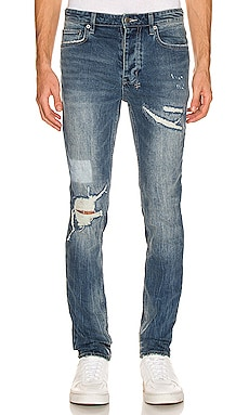 Chitch Rage Ripped Jean Ksubi $240 NEW