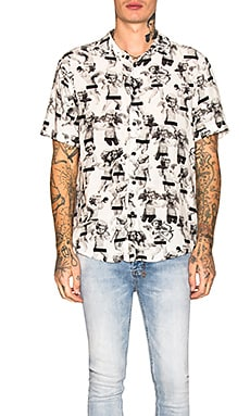 NAUGHTY BOYS PRINT 셔츠 Ksubi $112