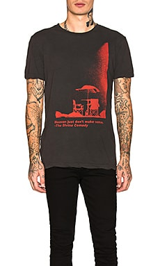 ФУТБОЛКА DIVINE COMEDY GRAPHIC Ksubi $89