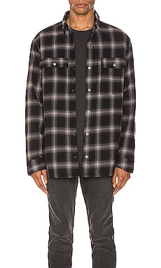 Strata Quilted Check Shirt Ksubi $200