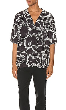 Heavy Metal Resort Shirt Ksubi $160