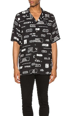You Have Been Warned Resort Short Sleeve Shirt Ksubi $84