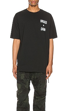 Drugs Aer Dumb Short Sleeve Tee Ksubi $90