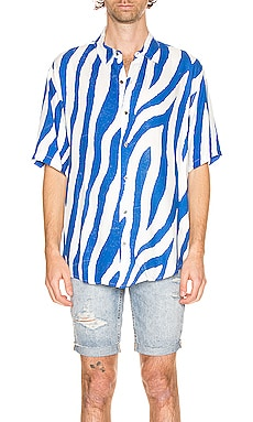 Animal Short Sleeve Shirt Ksubi $160