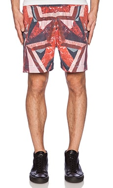 KTZ Shorts in Red