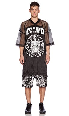 KTZ Graphic Tee in Black & White