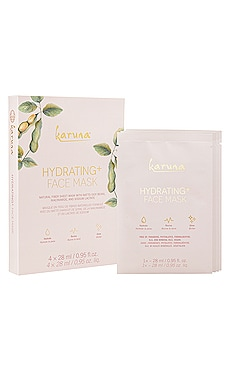Hydrating+ Mask 4 Pack Karuna $28