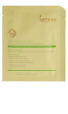 Exfoliating+ Foot Mask 4 Pack Karuna $38