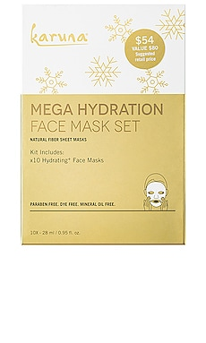 Mega Hydration Face Mask Set Karuna $54