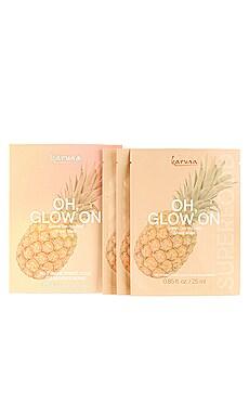 Oh Glow On Sheet Mask 3 Pack Karuna $18