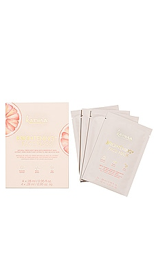 Brightening+ Mask 4 Pack Karuna $28