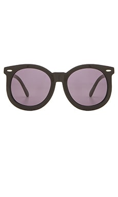 Karen Walker Super Worship in Black & Black