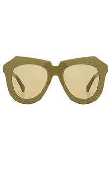 Karen Walker One Meadow in Khaki & Gold