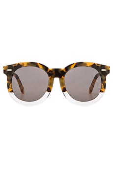 Karen Walker Super Duper Thistle in Crazy Tort & Clear & Gold