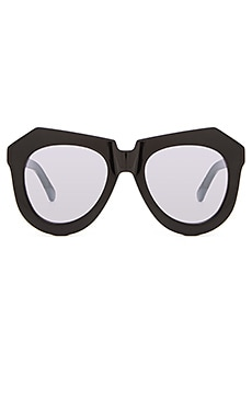 Karen Walker Superstars One Worship in Black & Silver Mirror