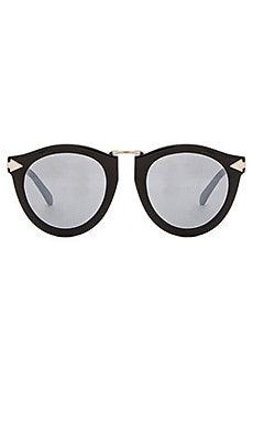 Karen Walker Superstars Harvest in Black & Silver Mirror