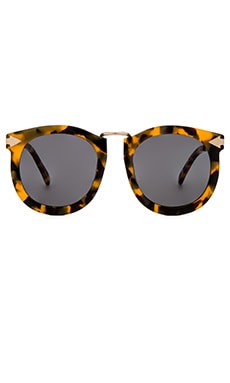 Karen Walker Super Lunar in Crazy Tort & Gold