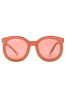 Karen Walker Super Spaceship in Rose Pink & Shiny Rose Gold