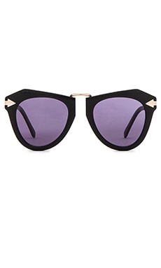 Karen Walker One Orbit in Black & Gold