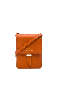 Benah by Karen Walker LydIa Mini Crossbody in Terracotta