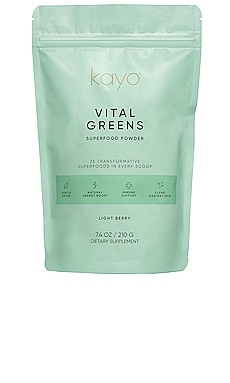 SUPPLÉMENT VITAL GREENS Kayo Body Care $42 BEST SELLER