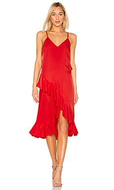Ruffle Slip Dress Kenzo $150 (FINAL SALE)