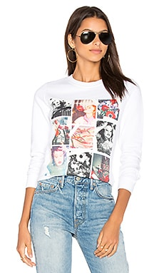Graphic Sweatshirt in White