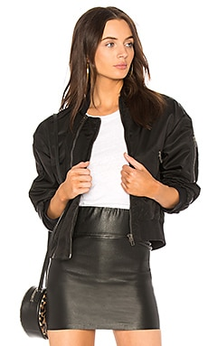 Double Zipped Bomber