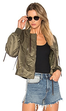Bomber in Dark Khaki