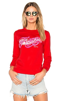 Graphic Sweatshirt in Vermilon